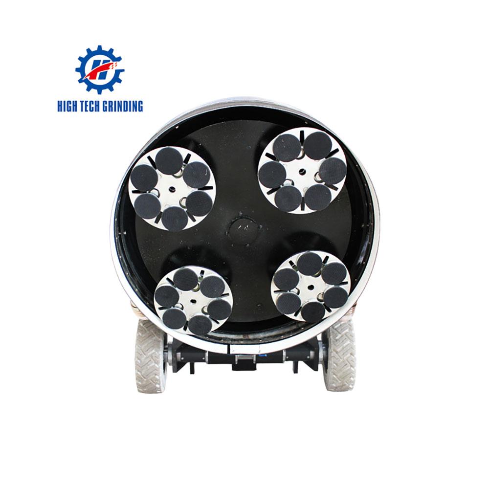 HTG-800-4E High Tech Grinding Polishing Machine by High Tech Grinding
