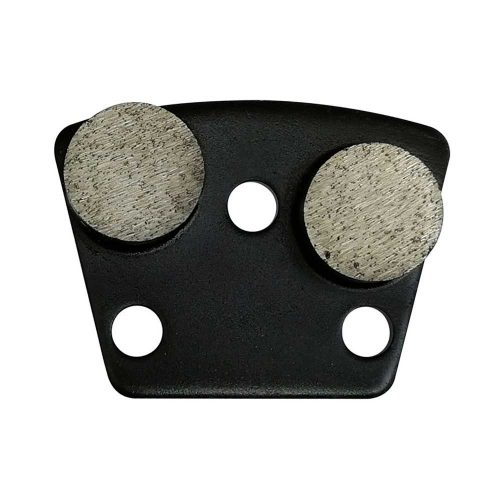 HTG-2Y Metal Diamond Concrete Grinding Shoe by High Tech Grinding