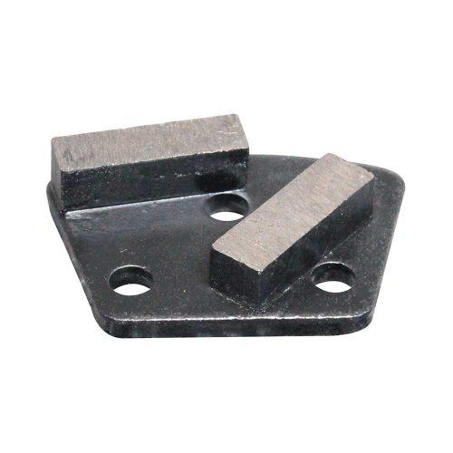 HTG-2C Metal Diamond Concrete Grinding Shoe by High Tech Grinding