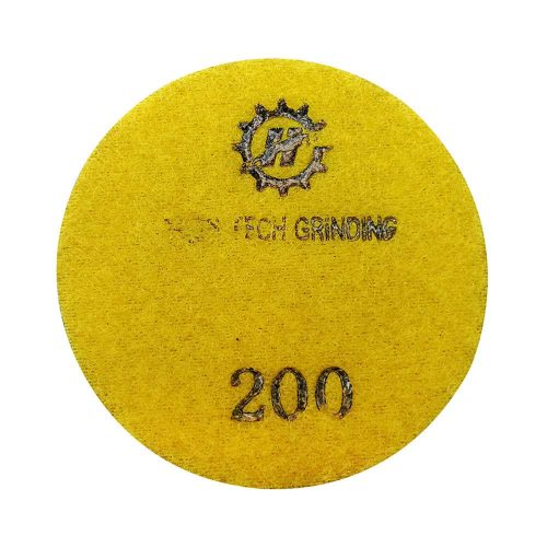 HTG-C310 Diamond Concrete Polishing Resin Pad by High Tech Grinding