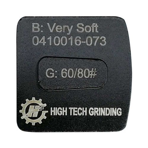 HTG-H2L Redi Lock Diamond Concrete Grinding Shoe by High Tech Grinding