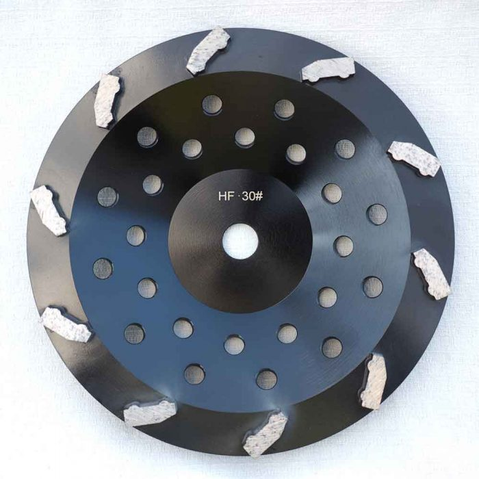 10 Inches Concrete Grinding Cup Wheel by High Tech Grinding