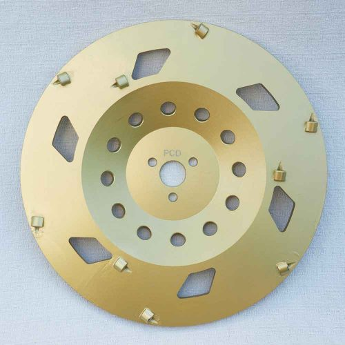 10 Inches Polycrystalline Diamond (PCD) Epoxy Removal Cup Wheel by High Tech Grinding