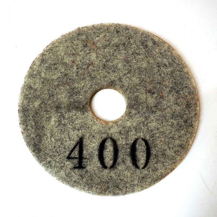 17 Inches Diamond Implanted Polishing Pad by High Tech Grinding