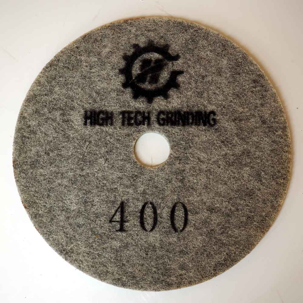 27 Inches Diamond Implanted Polishing Pad by High Tech Grinding