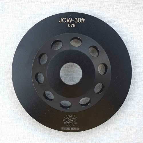 TCP-JCW 5 Inches Concrete Grinding Cup Wheel with Arrow Shape Segments by High Tech Grinding