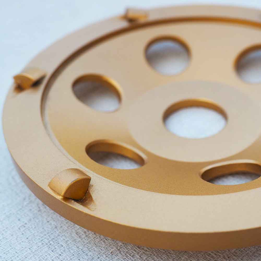 5 Inches Polycrystalline Diamond (PCD) Epoxy Removal Cup Wheel by High Tech Grinding